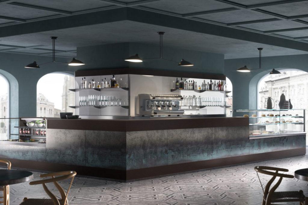 Arredo bar caff e wine bar frankelia catering equipment for Arredo bar tonolli